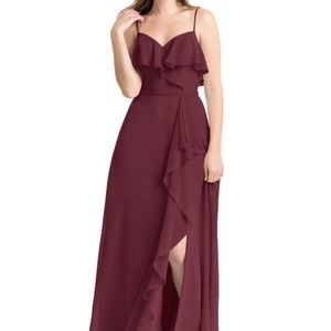 Cabernet Bridesmaid Dress